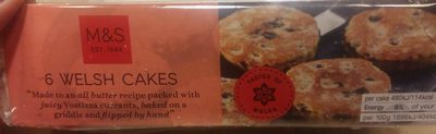 Welsh Cakes - Product - fr