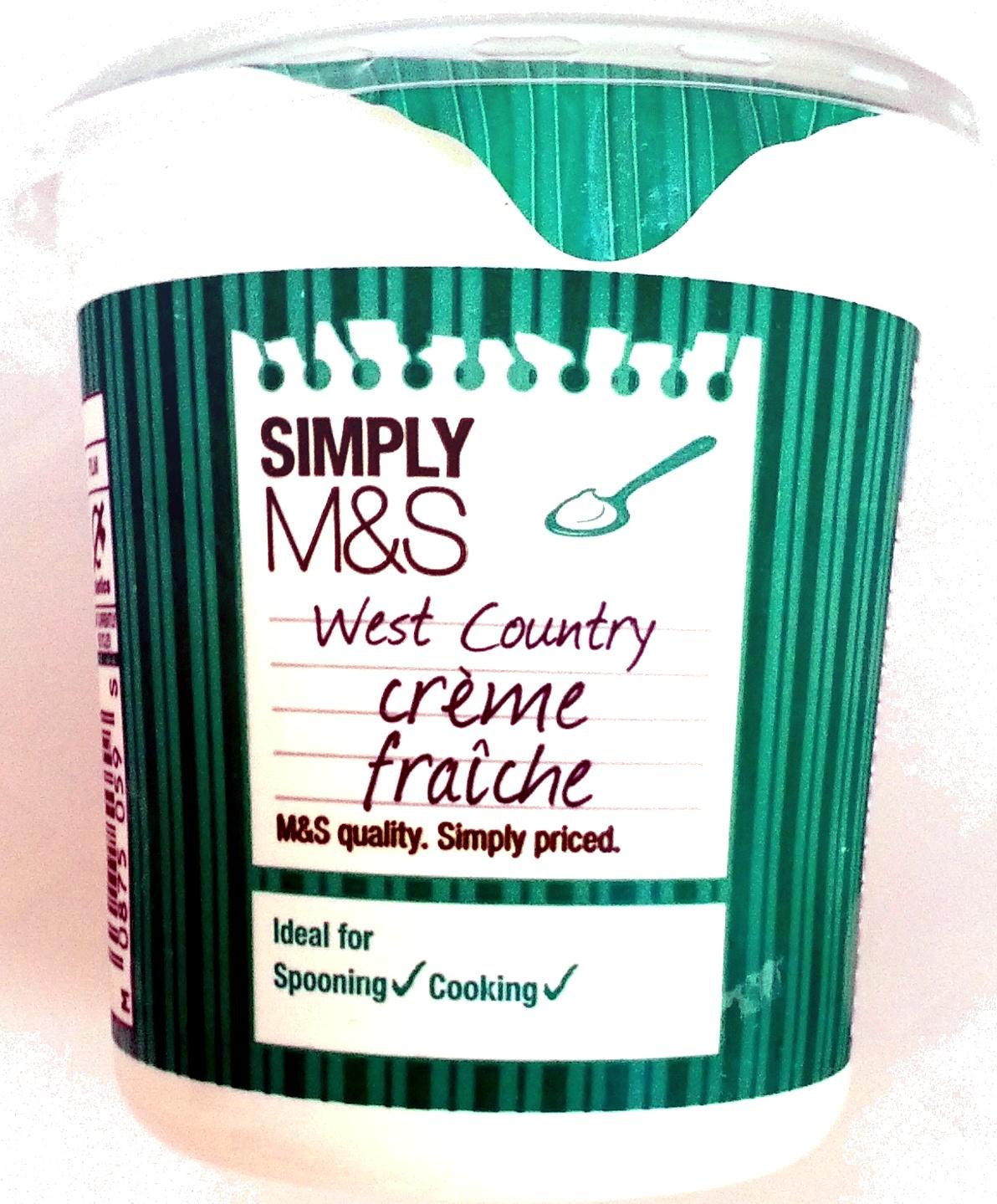 West Country Crème Fraîche - Product