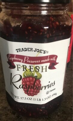 Trader joe's fresh raspberries - Product
