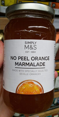 No peel orange marmalade - Produit