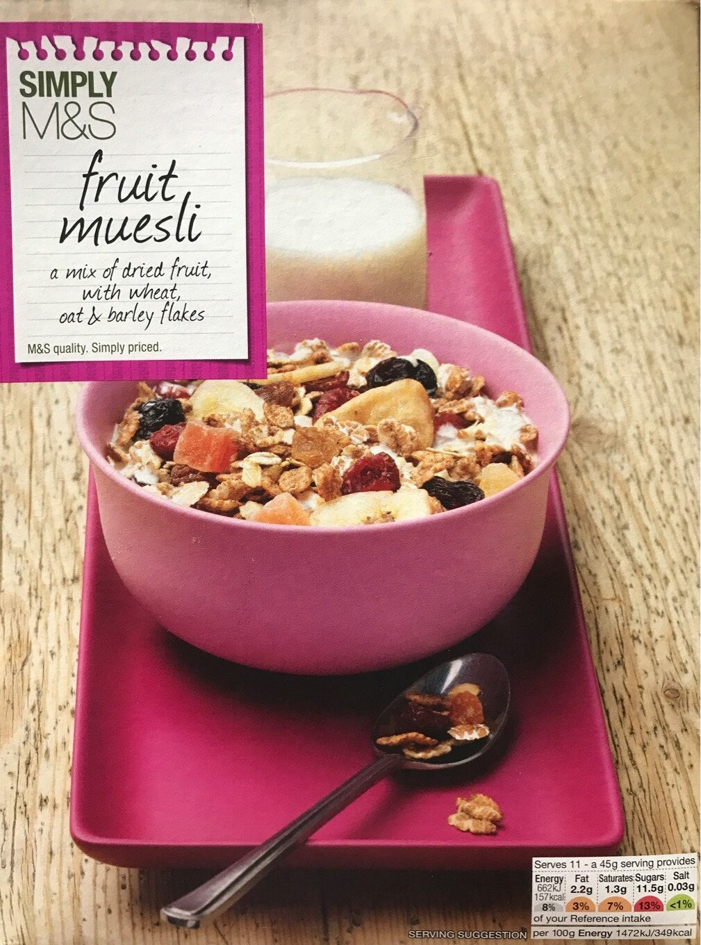 Fruit muesli - Product