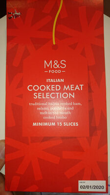 Italian cooked meat selection - Product - en