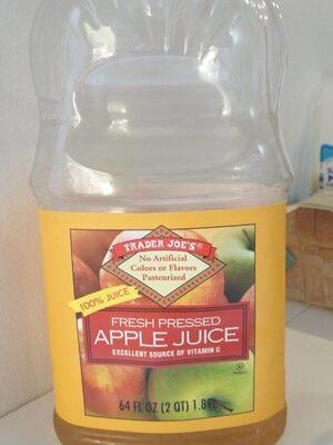 Fresh presses apple juice - Product