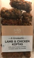 Lamb & chicken koftas - Product