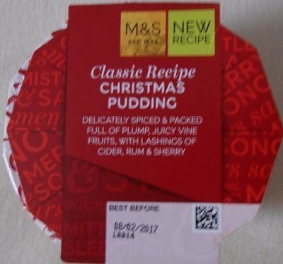 Christmas Pudding - Product - fr