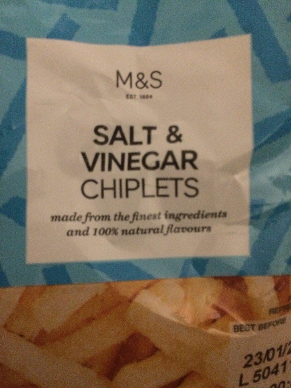 Chiplets vinaigre - Produit