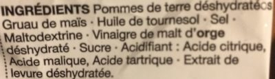 Chiplets vinaigre - Ingrédients