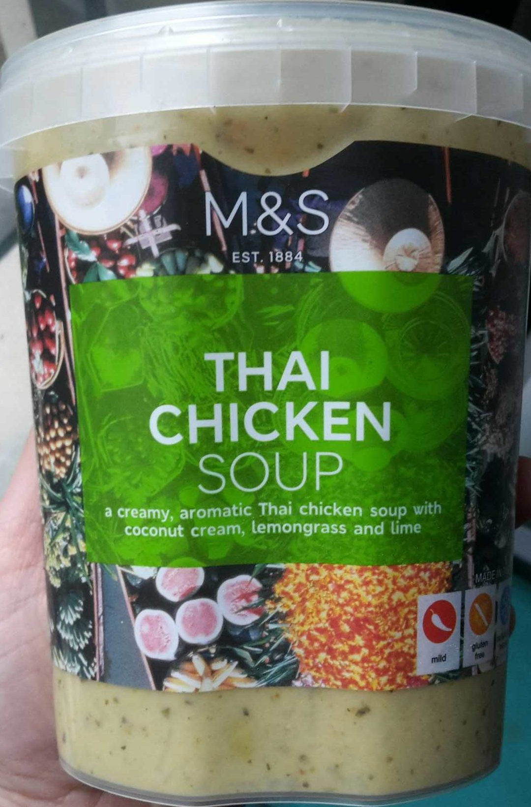 Thai Chicken Soup - Product - fr