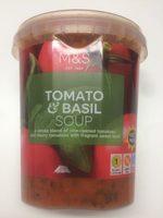 Tomato & basil soup - Product