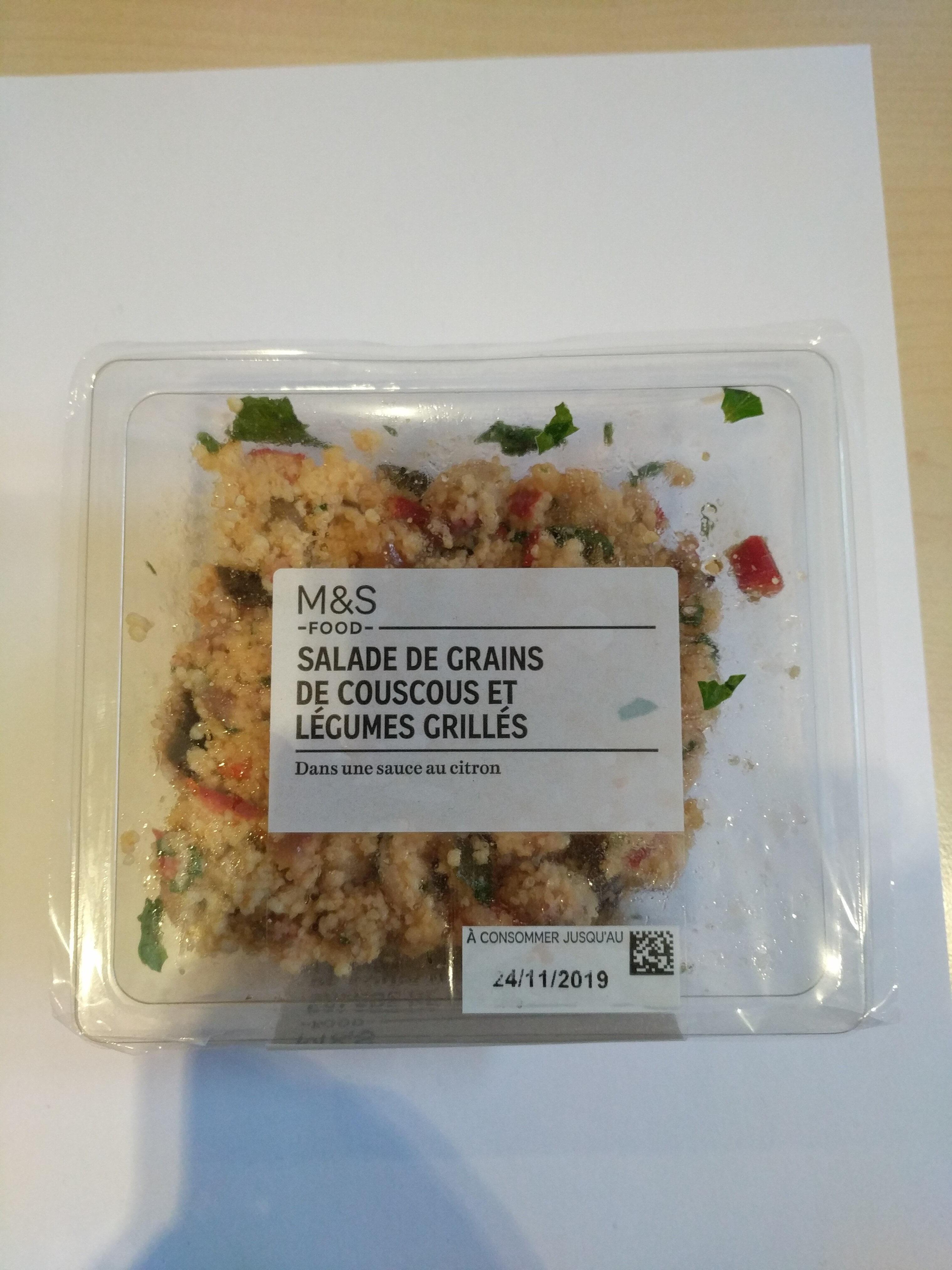 Salade Couscous Et Legumes Grilles - Produit