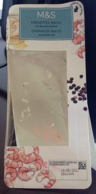 Crevettes Mayo sur du Pain Spécial - Product
