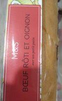 Boeuf rôti et oignon - Product