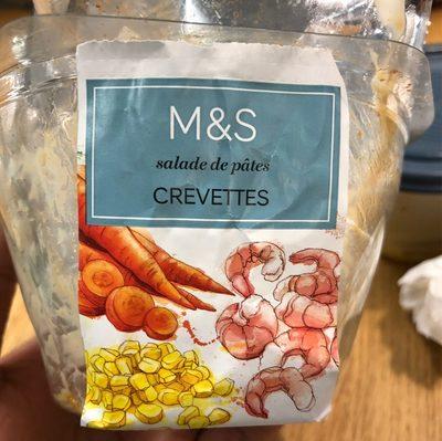 Salades de pates crevettes - Product