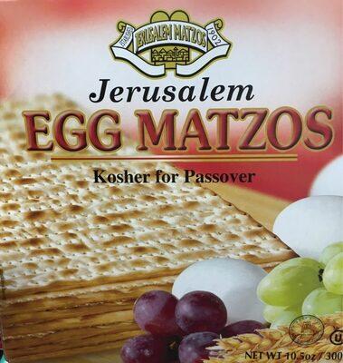 Matzot aux oeufs - Produit
