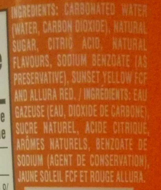 Mandarine - Ingrédients - fr