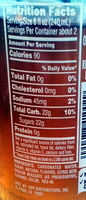 Jarritos tamarind - Nutrition facts