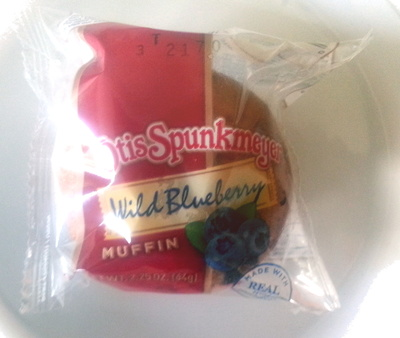 Wild blueberry muffin - Product - en