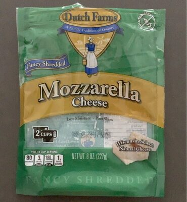 Mozzarella cheese - Product - en