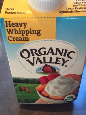 Organic Pasture-Raised Heavy Whipping Cream - Product