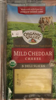 Cheese Deli Slices, Mild Cheddar - Product