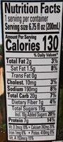 Organic 1% lowfat milk, chocolate - Nutrition facts - en