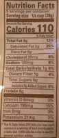 Finely Shredded Cheese, Mild Cheddar - Nutrition facts