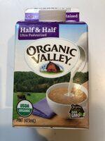 Half & half ultra pasteurized - Product - en