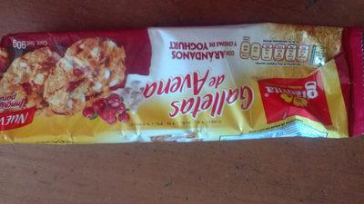 galletas de avena con arándanos y chipas de yoghurt - Producto