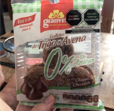Galletas de trigo y avena - Product - fr