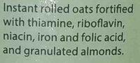wellness oatmeal with - Ingredientes - en