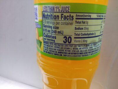 Citrus Punch Drink - Ingredienti - en
