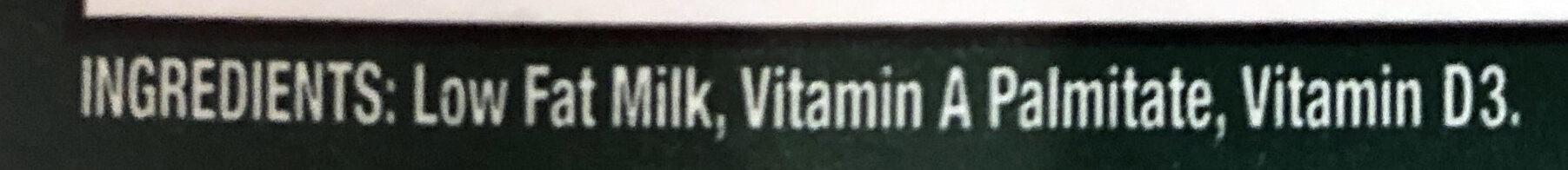 Low Fat Milk - Ingredients - en