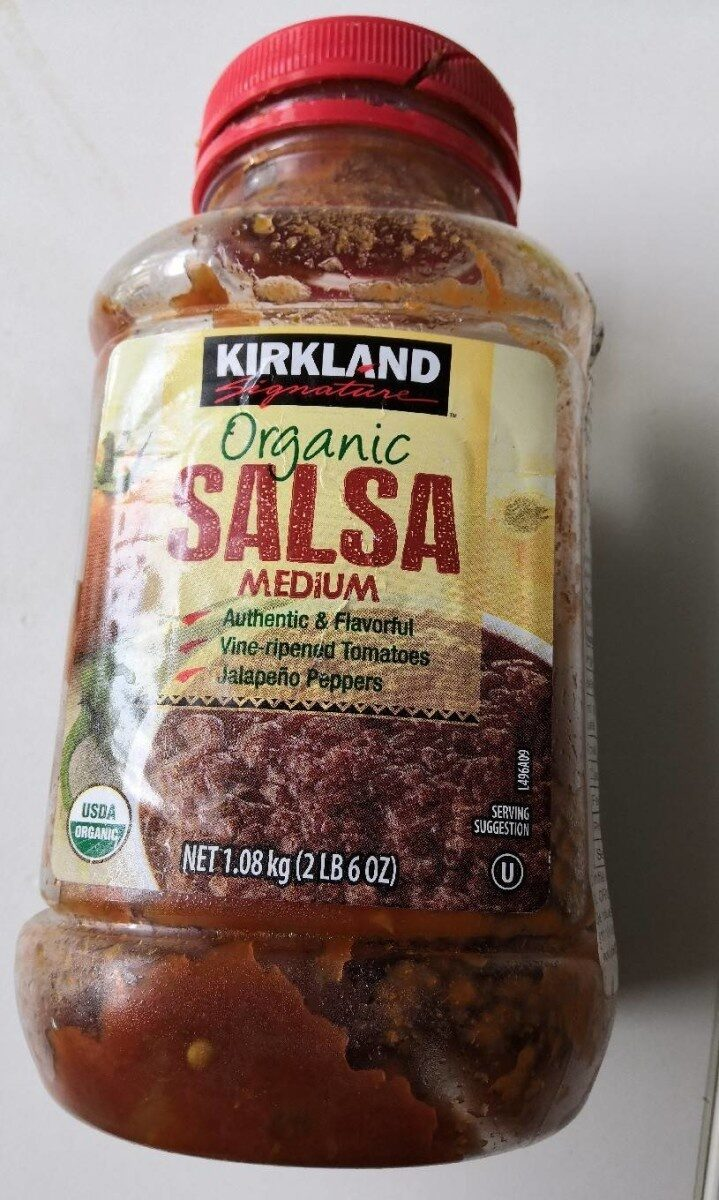 Organic salsa - Product - en