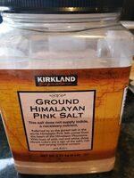 Ground himalayan pink salt - Product - en