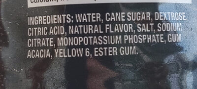 Sport Drink - Ingredients - en