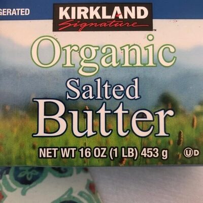 Organic Salted Butter - Product