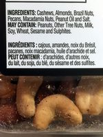 Mixed Nuts - Ingredients - fr