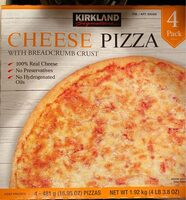 Cheese Pizza with breadcrumb crust - Product - en