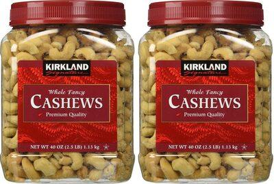 Whole cashews - Producte - en