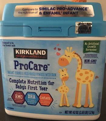 ProCare infant formula - Product