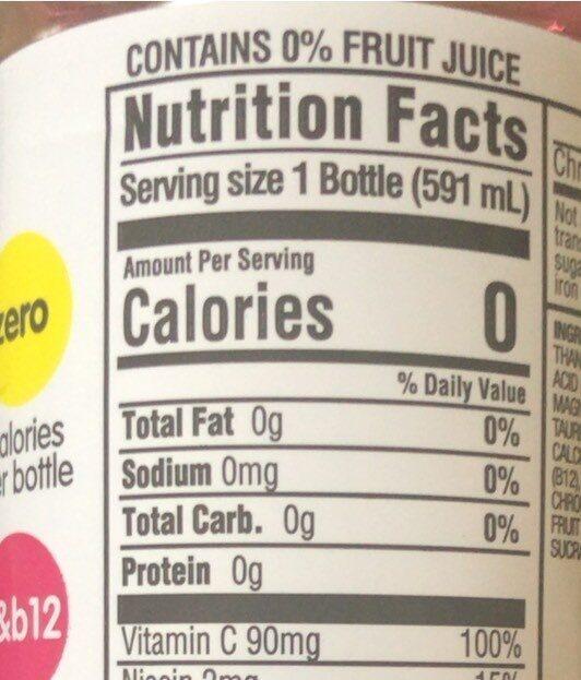 Kirkland - Nutrition facts - en