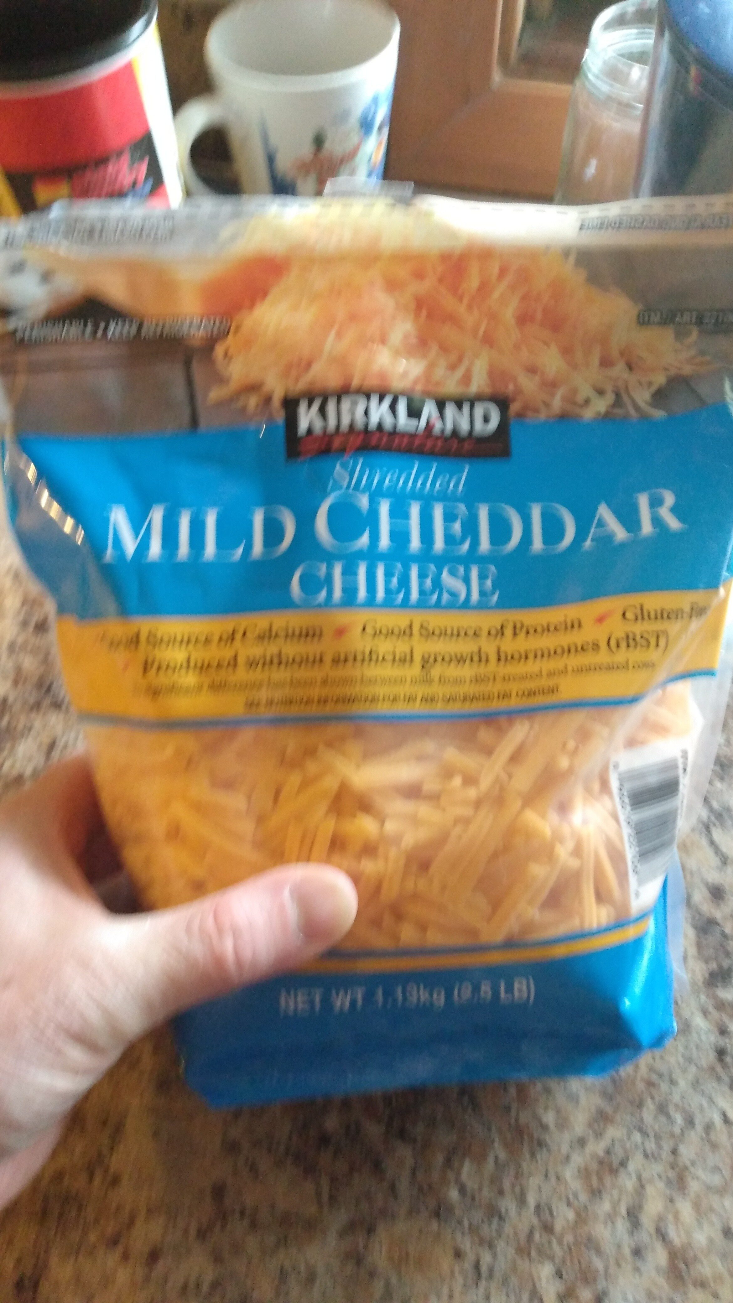 Mild Cheddar Cheese - Product