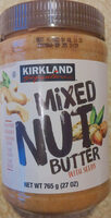 Mixed nut butter with seeds - Product