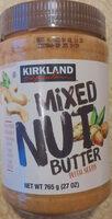 Mixed nut butter - Product - en