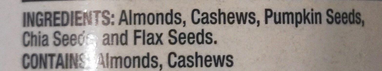 Mixed nut butter - Ingredients - en