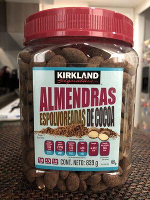 Almendras Espolvoreadas de Cocoa - Producto - es