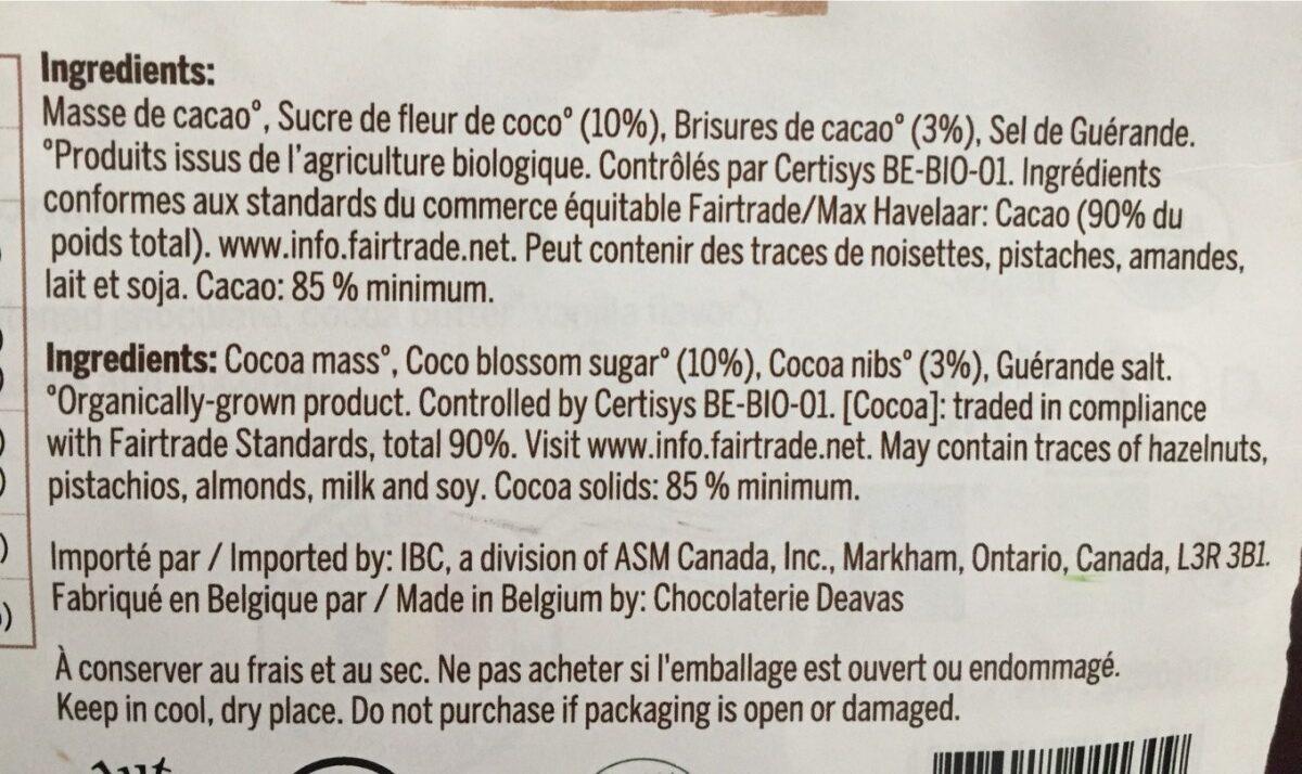 Belgian thins - Ingrediënten