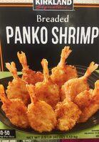 Breaded panko shrimp - Product - en