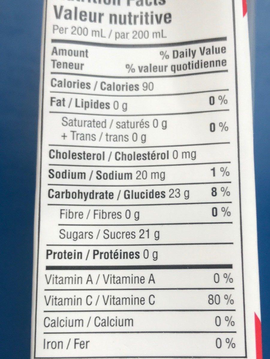 Organic - Ingrediënten