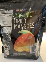 Organic dried mangoes - Product
